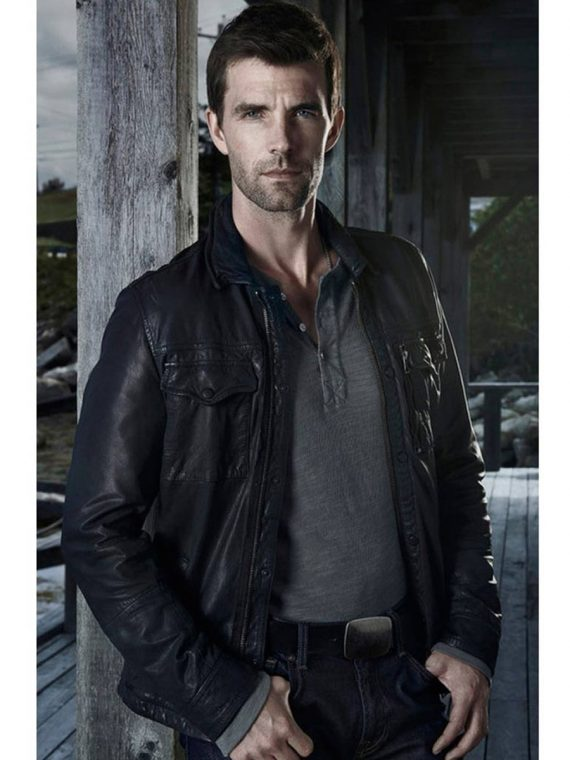 Haven Nathan Wuornos Black Leather Jacket