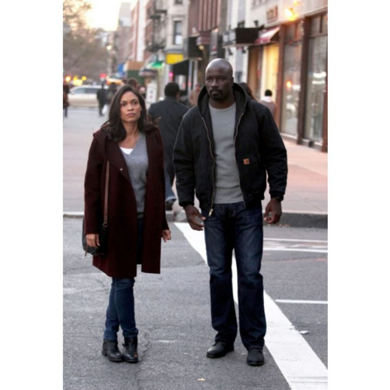 Luke Cage Mike Colter Cotton Jacket