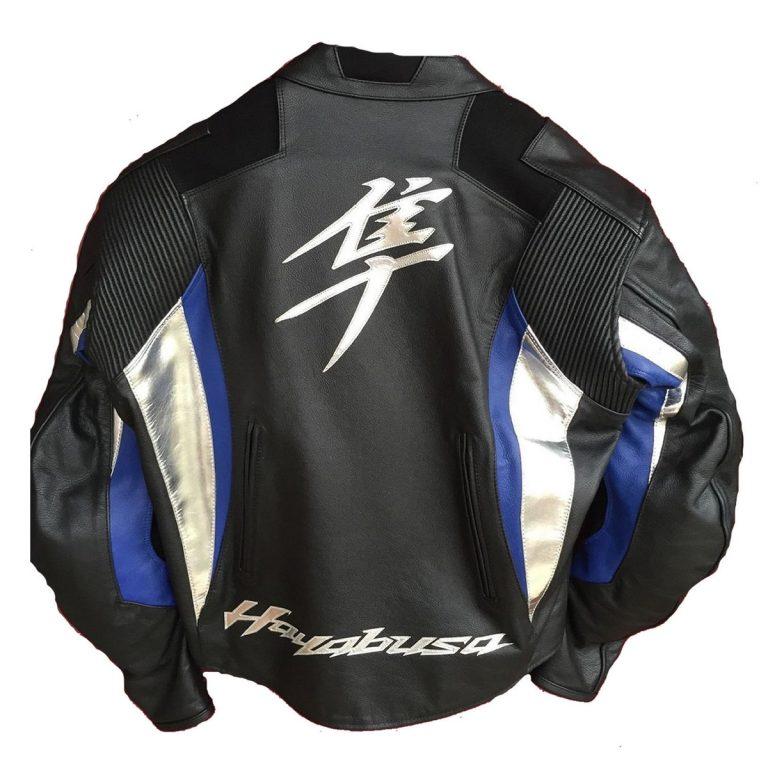 Suzuki Hayabusa Motorcycle Racing Jacket