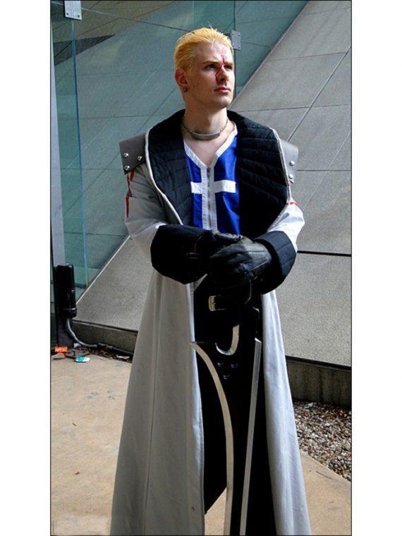 Final Fantasy VIII Seifer Almasy Trench Coat Cosplay Costume