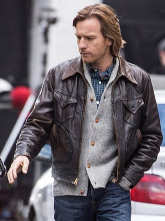 Ewan McGregor Our Kind of Traitor Brown Jacket