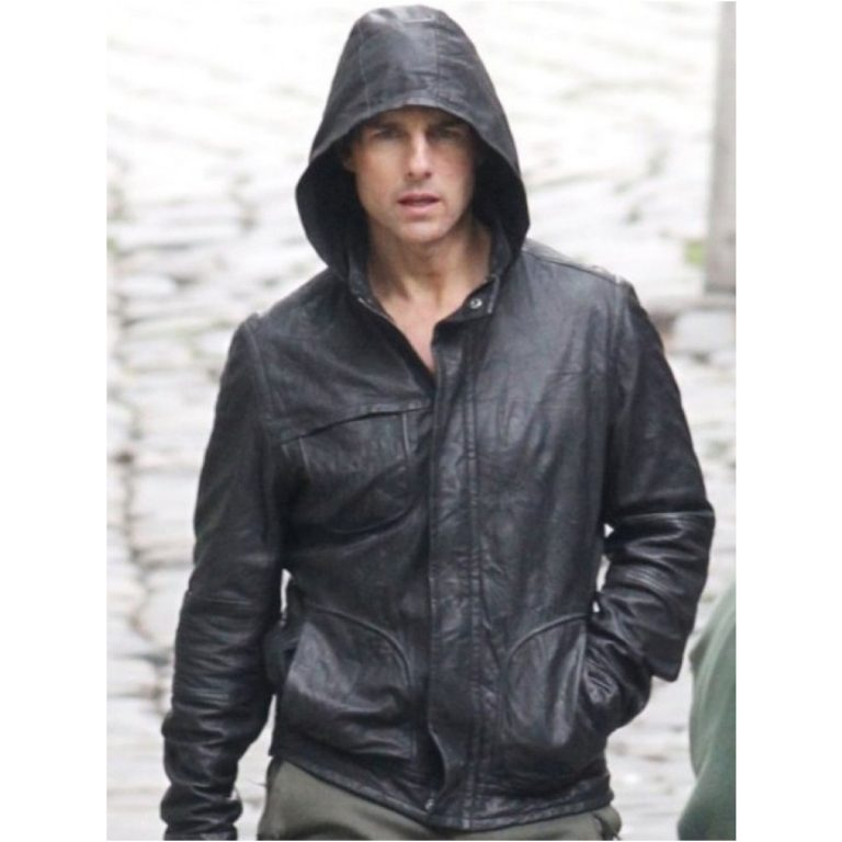 Mission Impossible 4 Tom Cruise Hooded Jacket