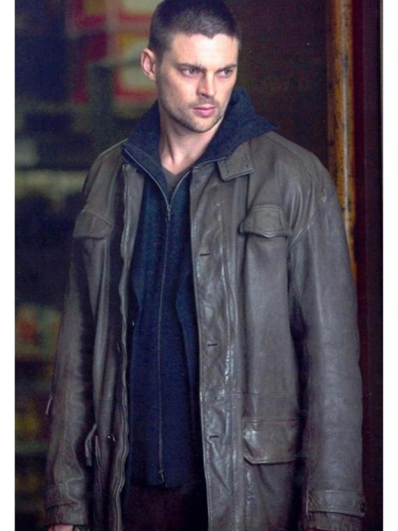 BOURNE SUPREMACY KARL URBAN KIRILL TRENCH COAT