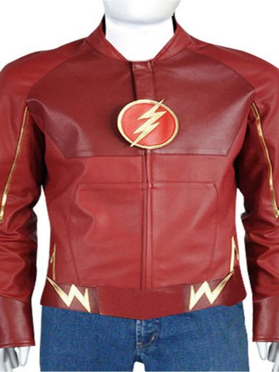 Flash Barry Allen Red Jacket