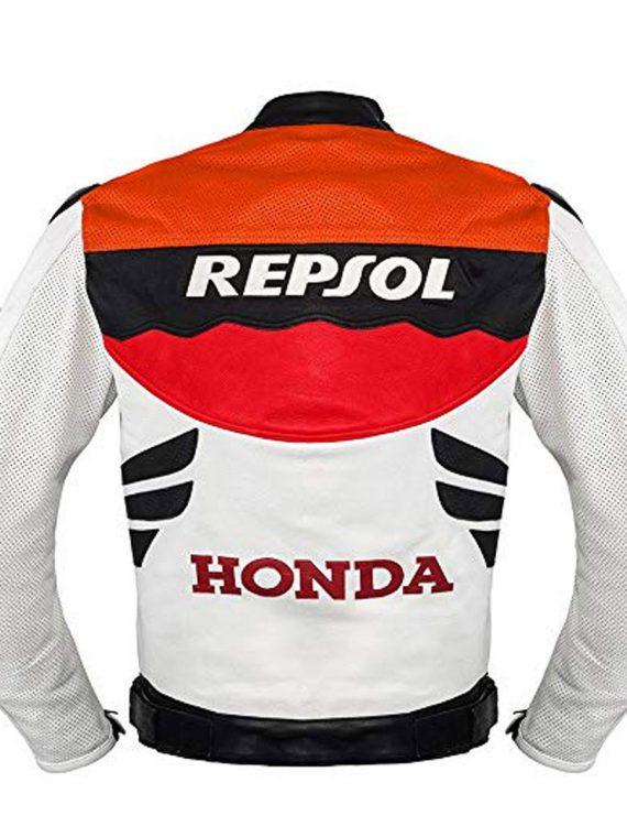 Honda Repsol Leather Racing Jacket