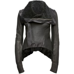 womens designer short zipper jacket