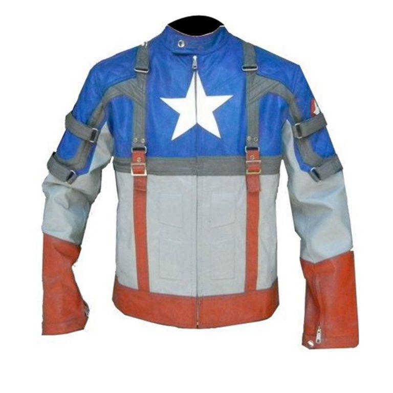 Captain America First Avenger Chris Evans Cosplay Costume