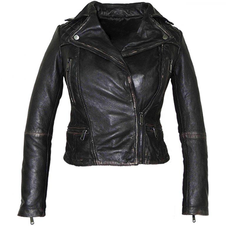Camren Bicondova (Selina) Gotham Black Leather Jacket