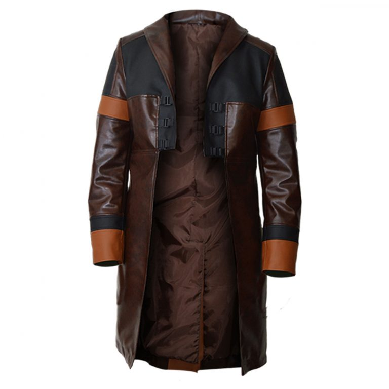 Guardians Of The Galaxy Vol 2 Gamora Trench Coat