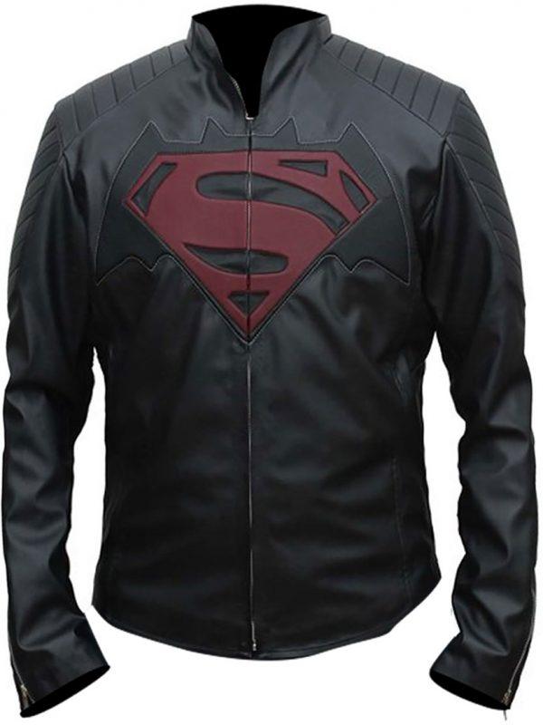 Shop-Best-seller-Black-jacket-Batman-V-Superman-Dawn-Of-Justice-Logo-Jacket-Uk-USA-Canada-image-3