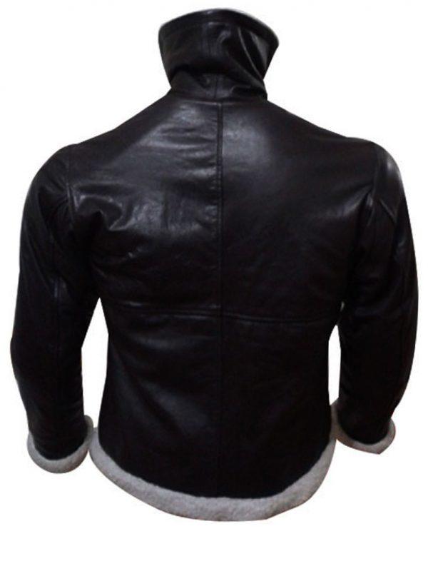 Sylvester Stallone Rocky 4 Balboa Shearling Winter Jacket