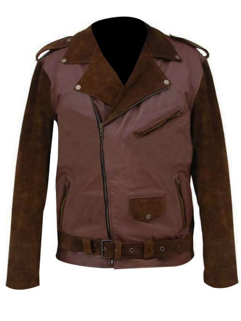 Billy Connollys Route 66 Biker Leather Jacket