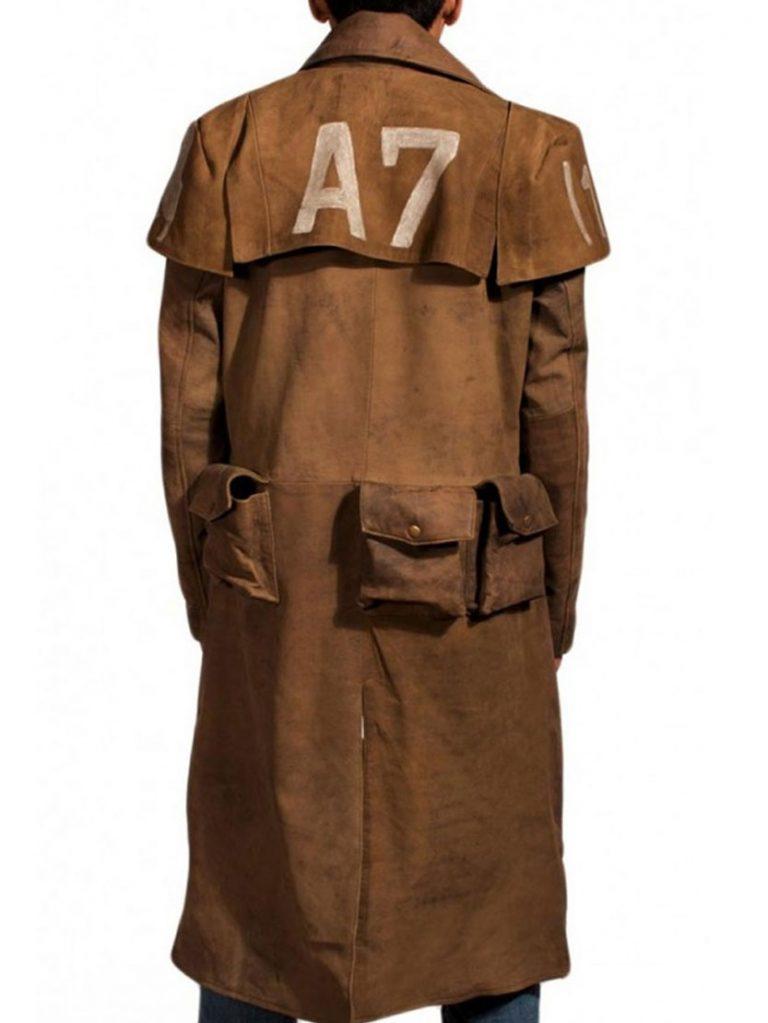 Fallout NCR Veteran Ranger Duster Leather Coat