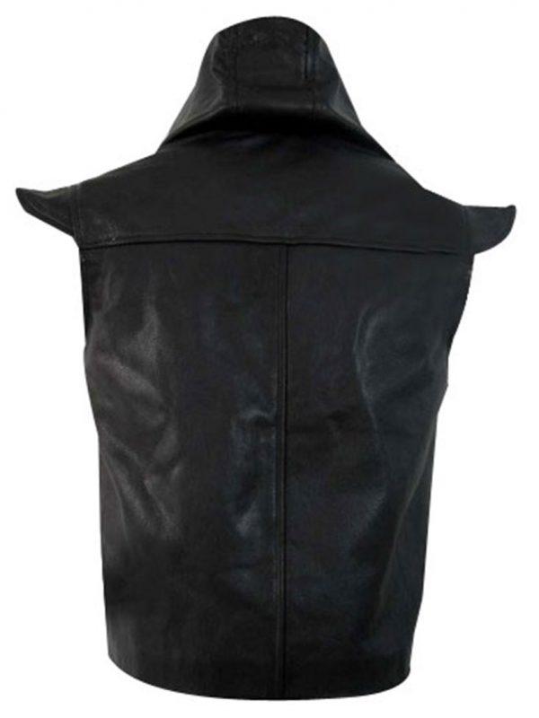 Robin des bois Ne Renoncez Jamais Robin Hood Leather Vest