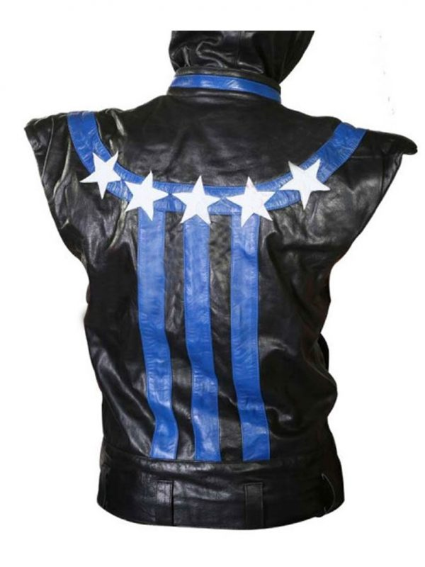 The FP (BTRO) Brandon Barrera Star Leather Jacket.
