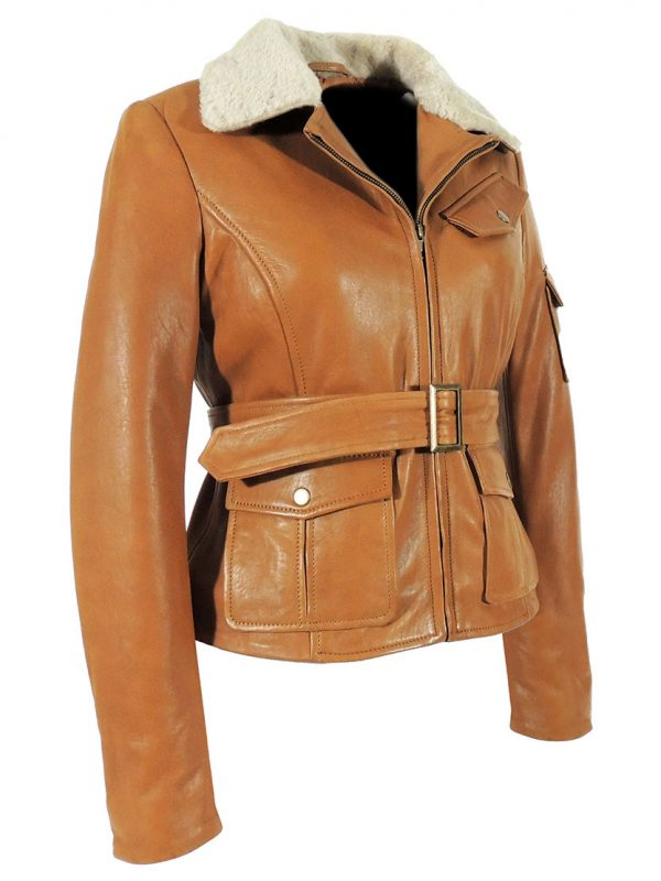 Night at the Museum Amelia Earhart Brown Jacket