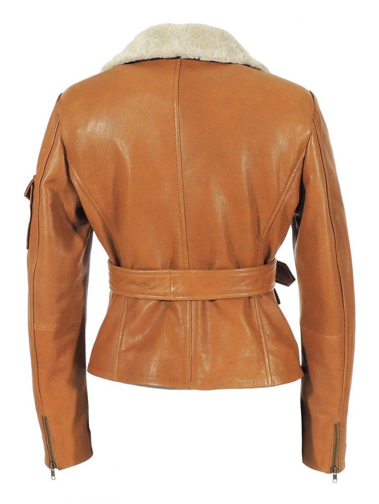 Night at the Museum Amelia Earhart Brown Jacket