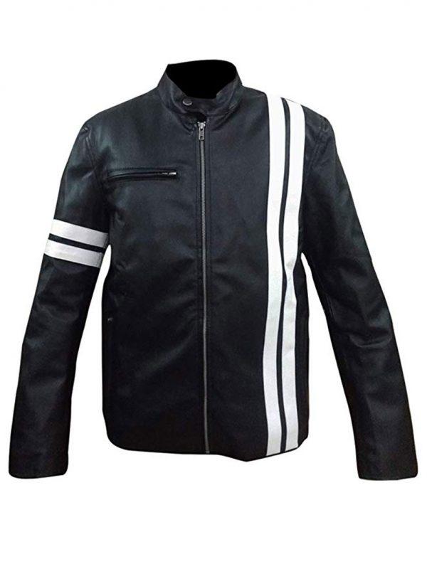 Shop-Most-wanted-Black-Leather-Jacket-Driver-San-Francisco-John-Tanner-Gaming-Jacket-UK-USA-Canada-image-3