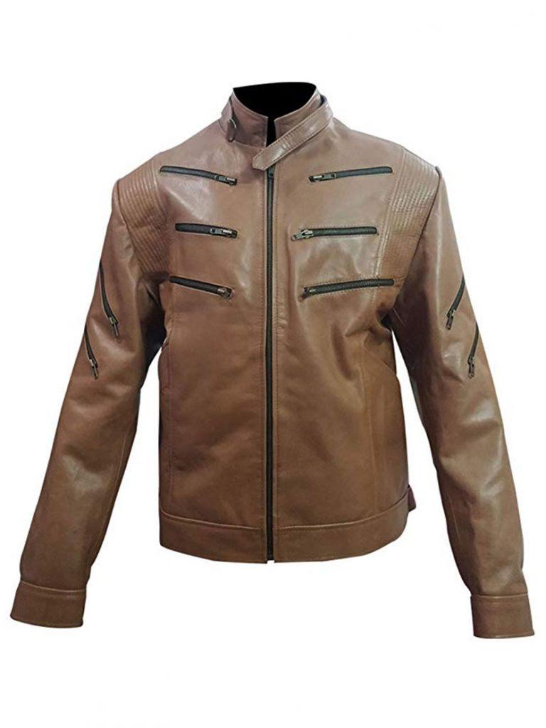 Arrow Season 2 Michael Jai White Brown Jacket