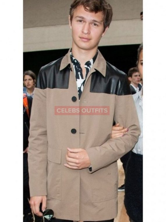ansel elgort coat