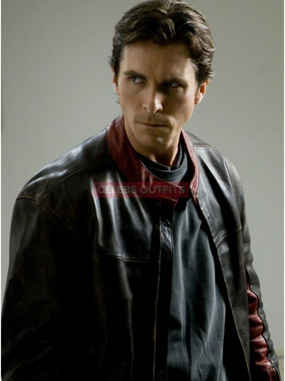 christian bale motorcycle jacket