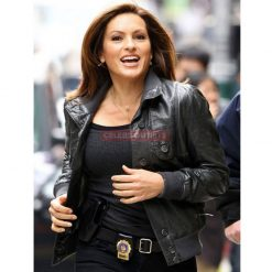olivia benson leather jacket