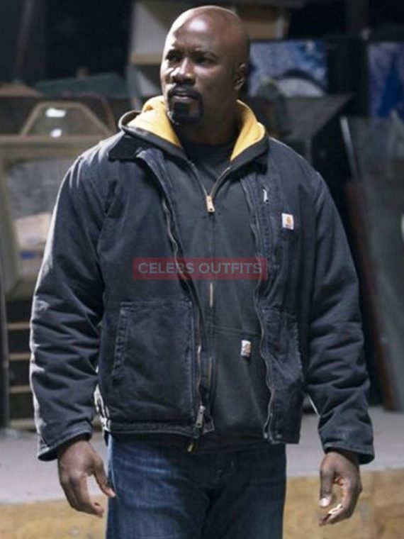 mike colter cotton jacket