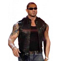 dave batista leather vest