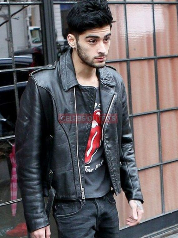 zayn malik leather jacket