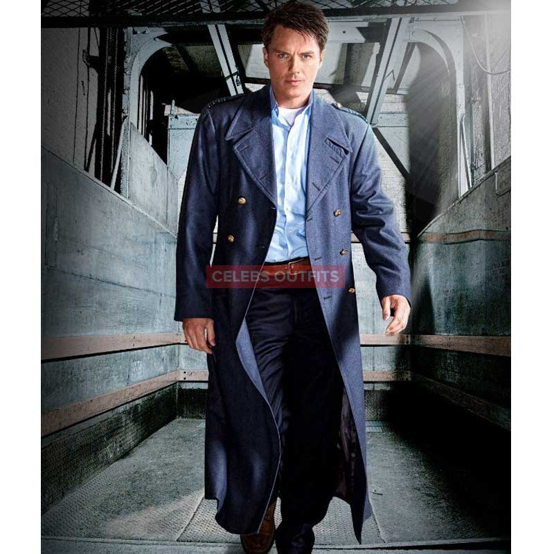 Captain Jack Harkness Coat in TORCHWOOD TV SHOW