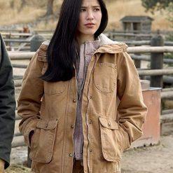 Yellowstone Kelsey Asbille Hoodie Jacket