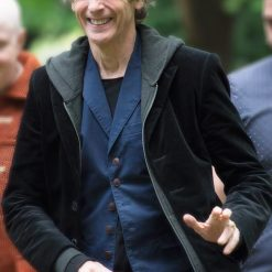 Peter Capaldi 12th Doctor Black Coat