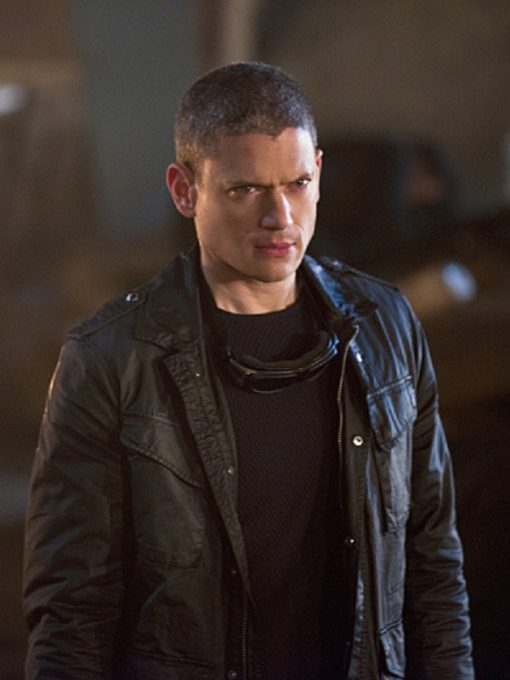 Captain Cold Legends Of Tomorrow Black Leather Jacket
