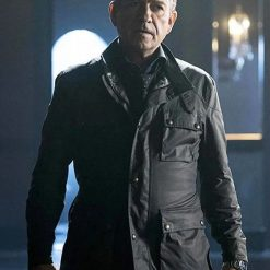 Gotham Alfred Pennyworth Leather Jacket