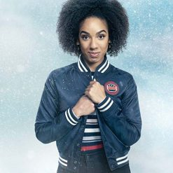 Doctor Who Twice Upon A Time Bill Varsity Jacket