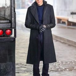 Gotham David Mazouz Trench Coat