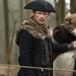 Outlander Jamie Fraser Fur Coat