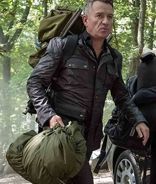 Gotham Alfred Pennyworth Leather Jacket
