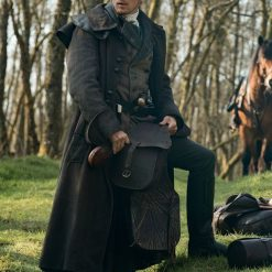 Outlander Season 5 Jamie Fraser Trench Coat