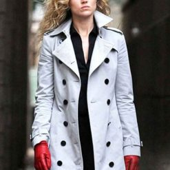 Gotham Barbara Kean White Coat