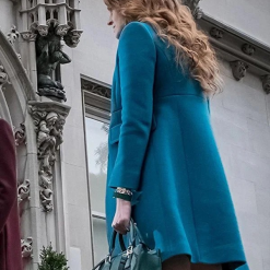 Gotham Ivy Pepper Blue Coat