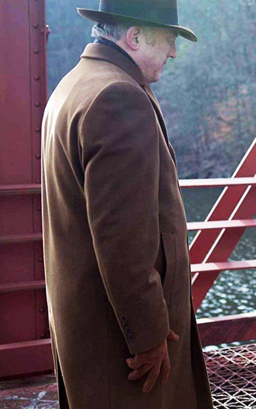 Gotham Carmine Falcone Brown Trench Coat