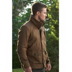 Oliver Queen Arrow Brown Cotton Jacket