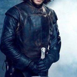 Kit Harington Jon Snow Leather Jacket