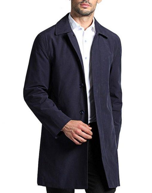 The Flash Joe West Black Cotton Coat