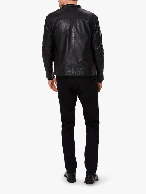Classic Leather Jacket For Men